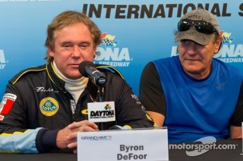 50+Predator/Alegra press conference: Byron Defoor and Brian Johnson