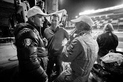 Joe Foster, Justin Bell and Patrick Dempsey