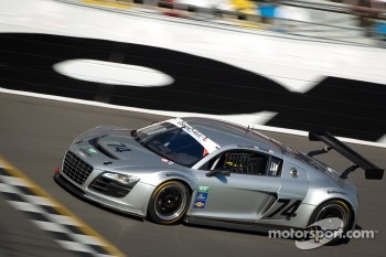 #74 Oryx Racing Audi R8 Grand-Am: Humaid Al Masaood, Saeed Al Mehairi, Steven Kane