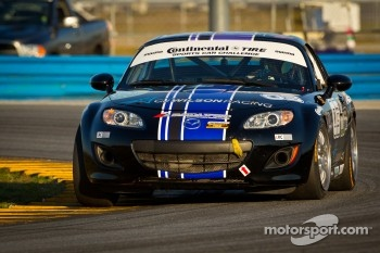 #03 CJ Wilson Racing Mazda MX-5: Bruce Ledoux, Chad McCumbee, Marc Miller, Jason Saini, CJ Wilson
