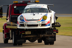 #34 Porsche GT3: Lance Willsey crashes