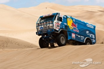 #509 Kamaz: Andrey Karginov, Andrey Mokeev, Igor Devyatkin