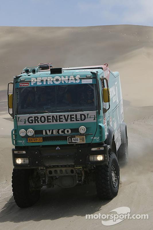 #505 Iveco: Hans Stacey, Hans van Goor, Bernard Der Kinderen