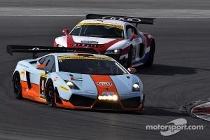 #8 Gulf Racing Lamborghini Gallardo LP600: Fabien Giroix, Frederic Fatien