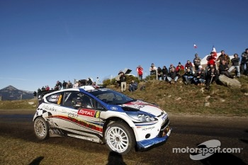 Francois Delecour and Dominique Savignoni, Ford Fiesta RS WRC