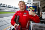 DP and overall pole winner Ryan Dalziel celebrates