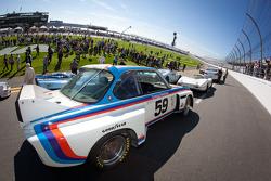 Daytona 24 Heritage cars photoshoot