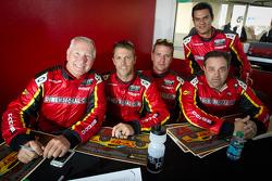 Jan Heylen, Doug Peterson, Maxime Soulet, Emilio Valverde