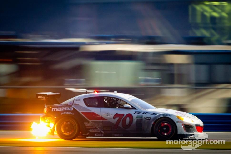 #70 SpeedSource Mazda RX-8: Jonathan Bomarito, Marino Franchitti, James Hinchcliffe, Sylvain Tremblay