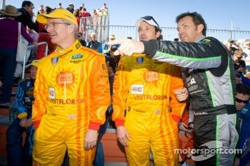 Joe Foster, Patrick Dempsey and Justin Bell
