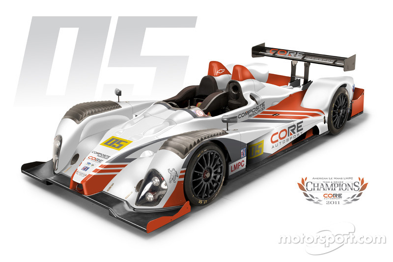 The 2012 CORE Autosport livery