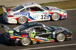 #32 Orbit/GMG Porsche GT3: Nicolas Armindo, Bret Curtis, Shane Lewis, James Sofronas, Lance Willsey, #4 Magnus Racing: Justin Bell, Ryan Eversley, Daniel Graeff, Ron Yarab Jr.
