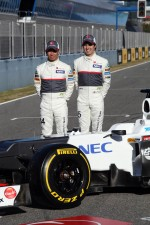 Kamui Kobayashi, Sauber F1 Team with Sergio Perez, Sauber F1 Team