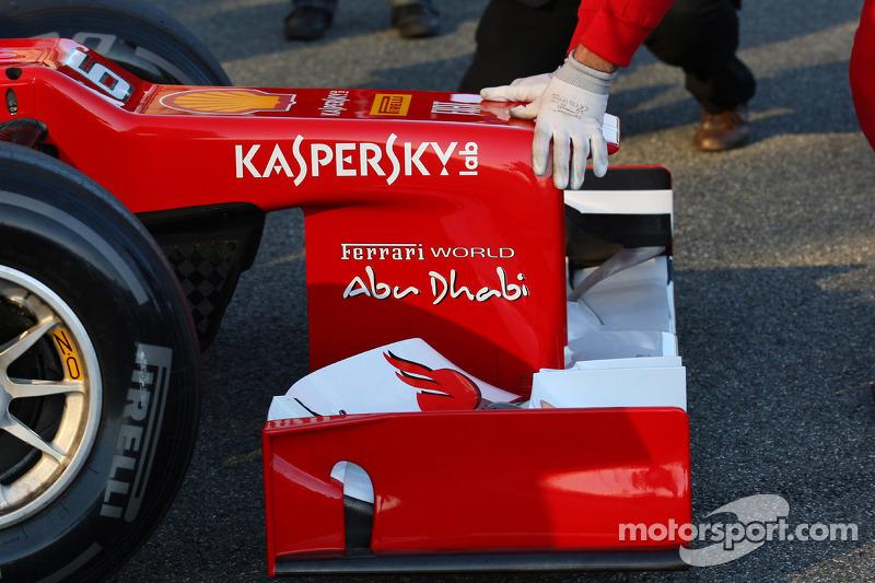 Ferrari nose cone