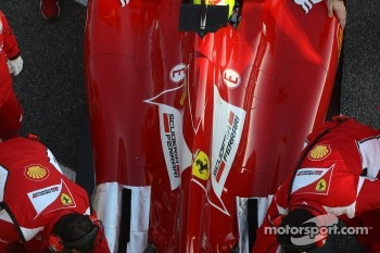Felipe Massa, Scuderia Ferrari engine cover