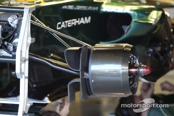 Caterham F1 Team brakes