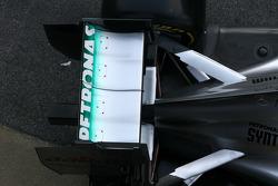 Technical detail, rear wing