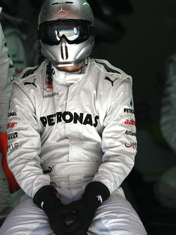 Mercedes GP mechanic