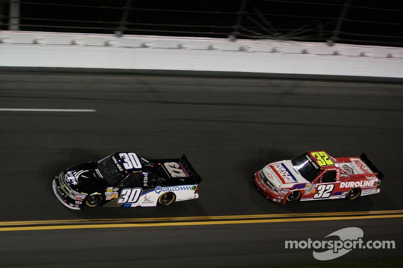 Nelson A. Piquet, Turner Motorsports Chevrolet and Miguel Paludo, Turner Motorsports Chevrolet
