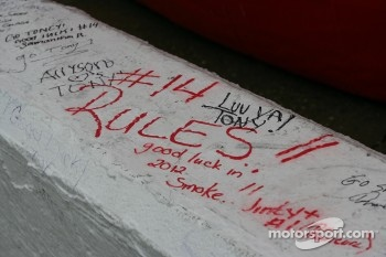 Messages for Tony Stewart, Stewart-Haas Racing Chevrolet