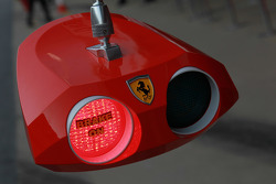 Ferrari pit stop lights