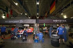 M-Sport work area