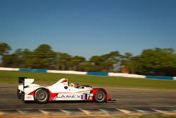 #8 Merchant Services Racing Oreca FLM09: Kyle Marcelli, Lucas Downs, Dean Stirling