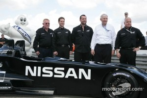 Presentation of the Nissan DeltaWing at Sebring, 2012