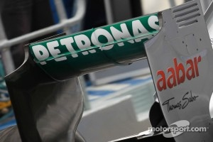 Nico Rosberg, Mercedes GP rear wing