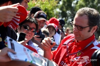 Stefano Domenicali, Scuderia Ferrari Sporting Director