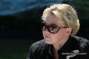 Oksana Kosachenko, manager of Vitaly Petrov
