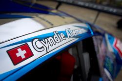 #21 Hitotsuyama Racing Audi R8 LMS, Cyndie Allemann name