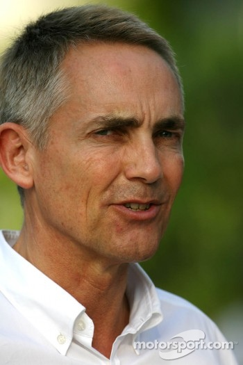 Martin Whitmarsh, Team McLaren Mercedes