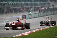 Formule 1 Photos - Fernando Alonso, Scuderia Ferrari et Sergio Perez, Sauber F1 Team