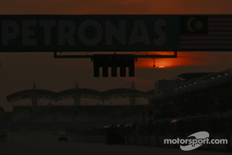 Sunset in Sepang