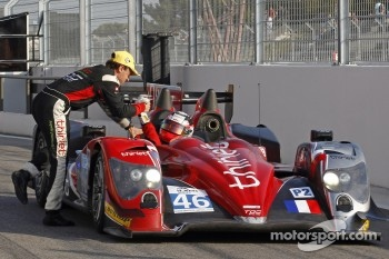 Race winners #46 Thiriet by TDS Racing ORECA 03: Mathias Beche, Pierre Thiriet