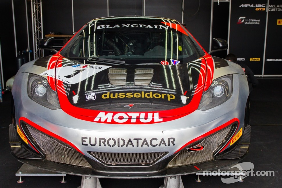 Hexis Racing McLaren GT MP4-12C GT3