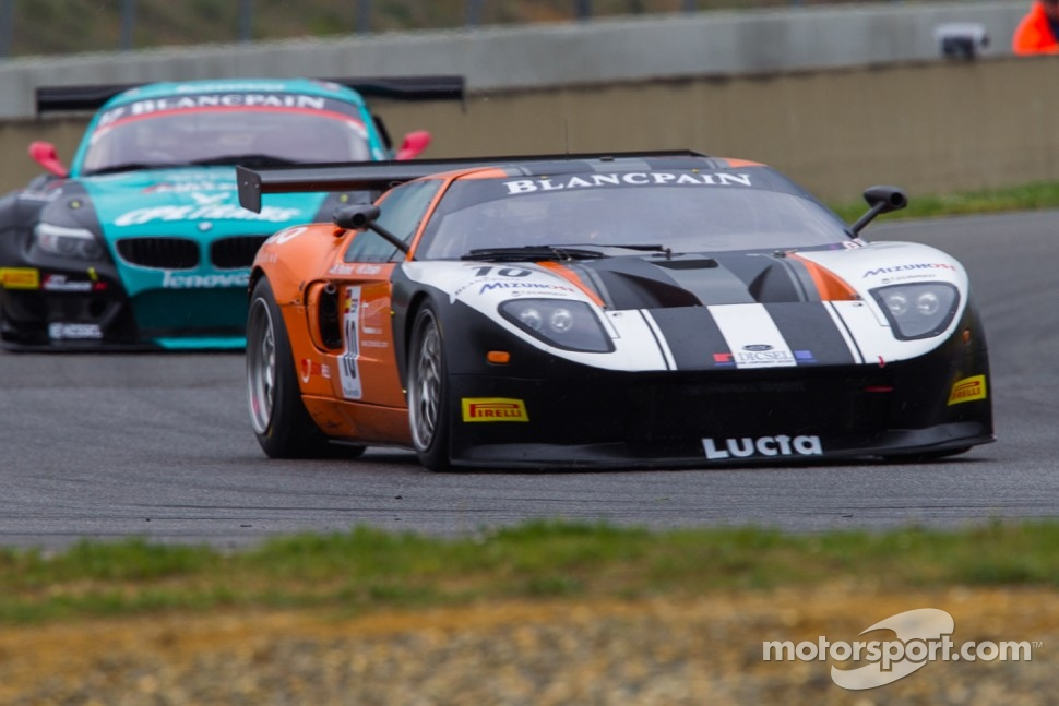 #10 Sunred Ford GT: Milos Pavlovic, Matteo Cressoni