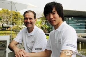 Luis Perez-Sala, HRT Formula One Team, Team Prinicpal with Ma Qing Hua, Hispania Racing F1 Team, Test Driver