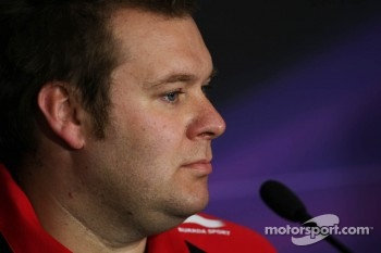 Dave Greenwood, Marussia in the FIA Press Conference