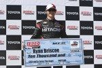 Fastest qualifier, Ryan Briscoe, Team Penske Chevrolet