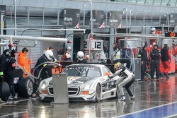#13 KRK Racing Mercedes-Benz SLS AMG GT3: Koen Wauters, Anthony Kumpen, Karl Wendlinger