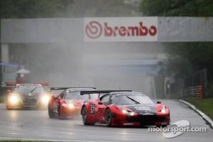 #57 Vita4One Team Italy Ferrari 458 Italia: Eugenio Amos, Alessandro Bonacini, Giacomo Petrobelli