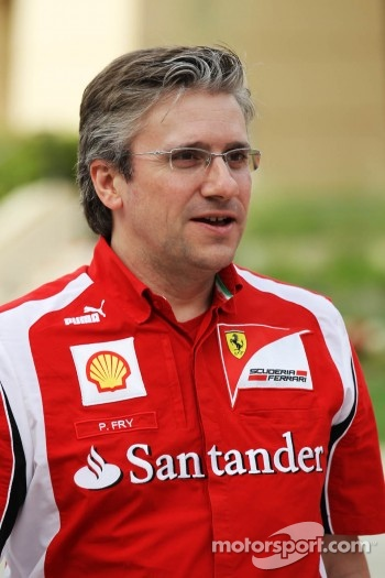 Pat Fry, Scuderia Ferrari Deputy Technical Director and Head of Race Engineering
