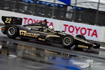 Oriol Servia, Lotus Dreyer & Reinbold Racing Lotus