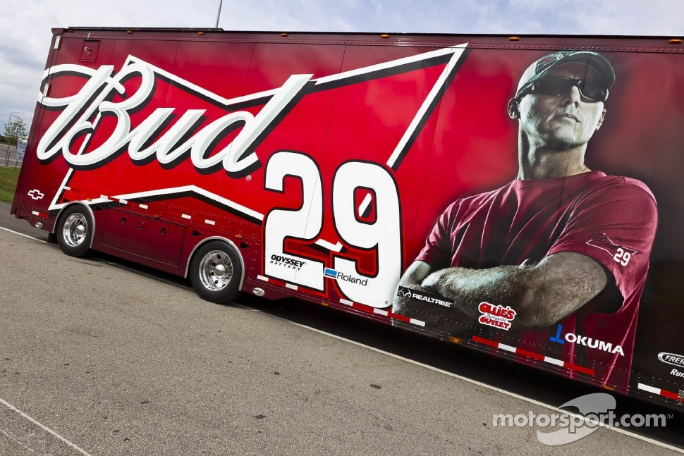 Kevin Harvick's hauler