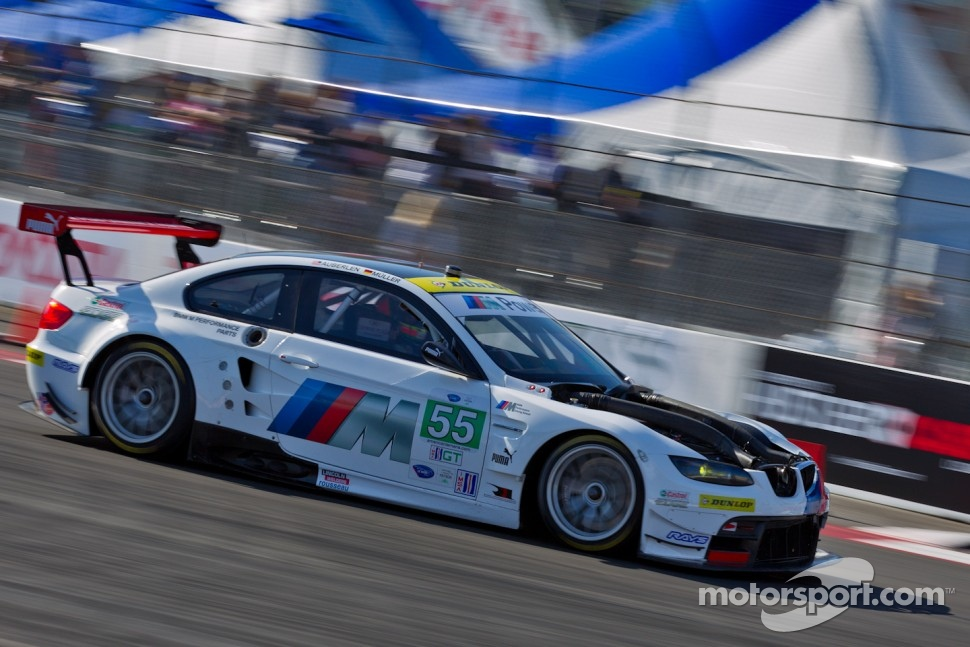 #55 BMW Team RLL BMW M3 GT: Bill Auberlen, Jorg Muller