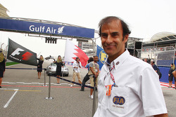 Emanuele Pirro, FIA Steward on the grid