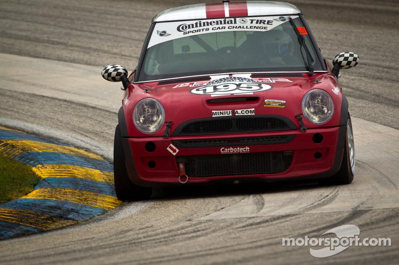 #195 RSR Motorsports Mini Cooper S: Chris Puskar, Mark Congleton