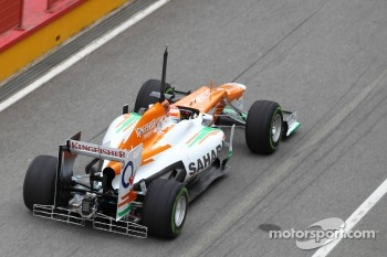 Paul di Resta, Sahara Force India Formula One Team with aero device